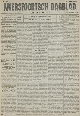 Amersfoortsch Dagblad / De Eemlander 1913-11-21