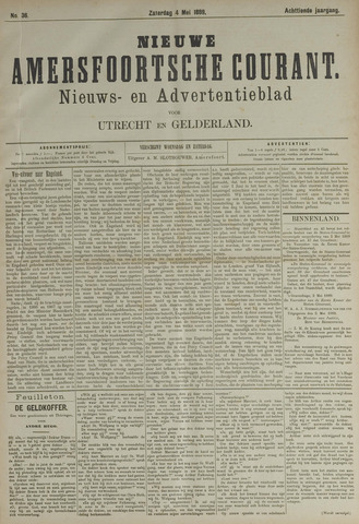 Nieuwe Amersfoortsche Courant 1889-05-04