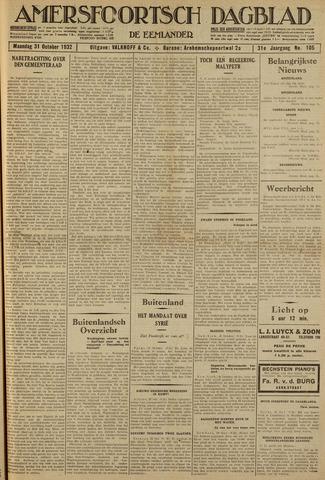 Amersfoortsch Dagblad / De Eemlander 1932-10-31
