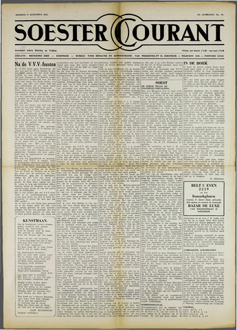 Soester Courant 1955-08-09