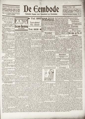 De Eembode 1936-02-11
