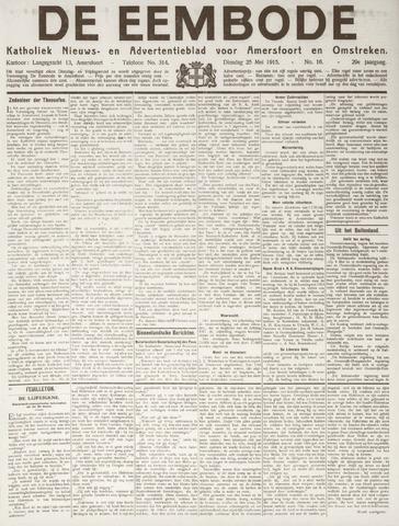 De Eembode 1915-05-25