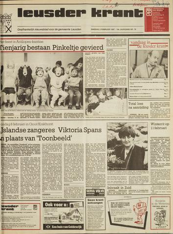 Leusder Krant 1987-02-03