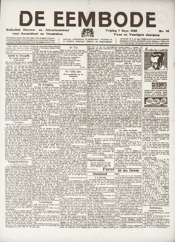 De Eembode 1928-09-07
