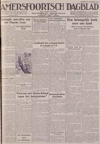 Amersfoortsch Dagblad / De Eemlander 1941-11-06