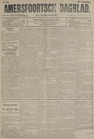 Amersfoortsch Dagblad / De Eemlander 1916-08-09