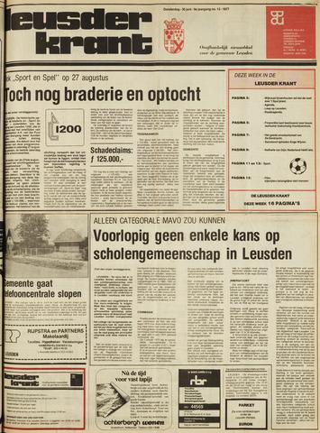 Leusder Krant 1977-06-30