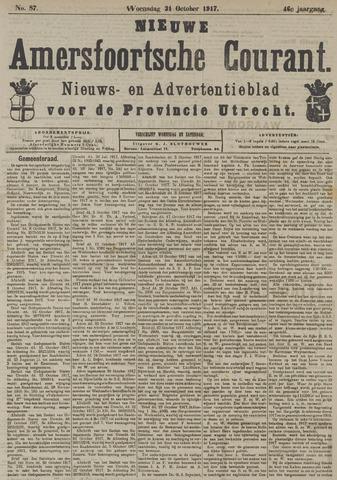 Nieuwe Amersfoortsche Courant 1917-10-31