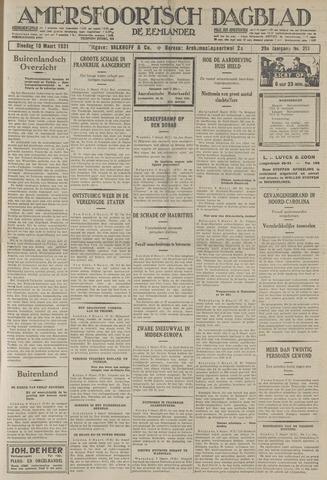 Amersfoortsch Dagblad / De Eemlander 1931-03-10