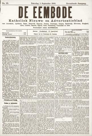 De Eembode 1903-09-05