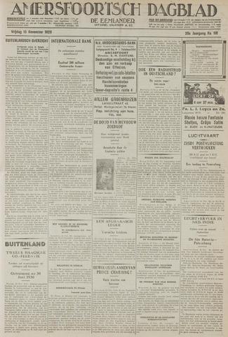 Amersfoortsch Dagblad / De Eemlander 1929-11-15