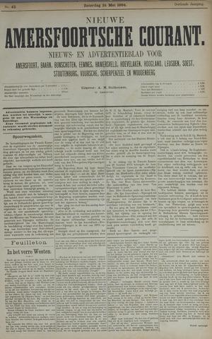 Nieuwe Amersfoortsche Courant 1884-05-24