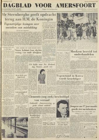 Dagblad voor Amersfoort 1951-02-26
