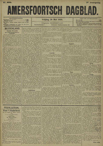 Amersfoortsch Dagblad 1909-05-28