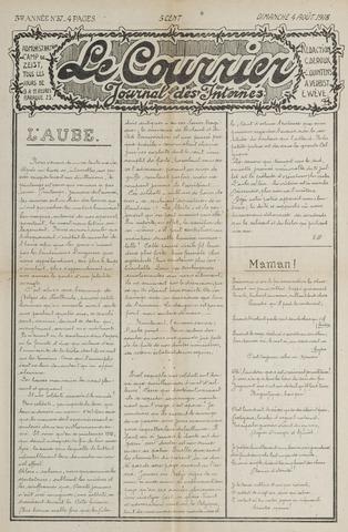 Le Courrier 1918-08-04
