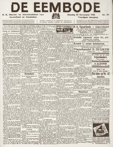 De Eembode 1926-11-30