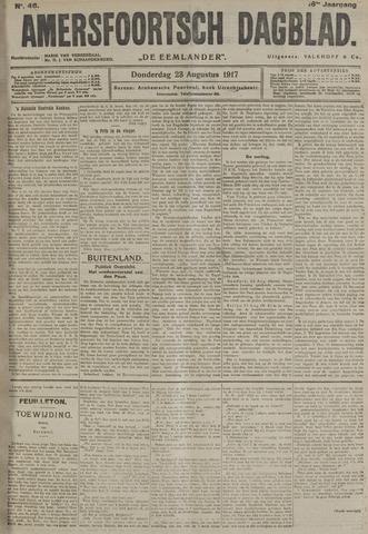 Amersfoortsch Dagblad / De Eemlander 1917-08-23