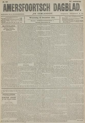 Amersfoortsch Dagblad / De Eemlander 1913-12-10