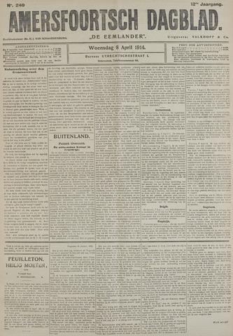 Amersfoortsch Dagblad / De Eemlander 1914-04-08