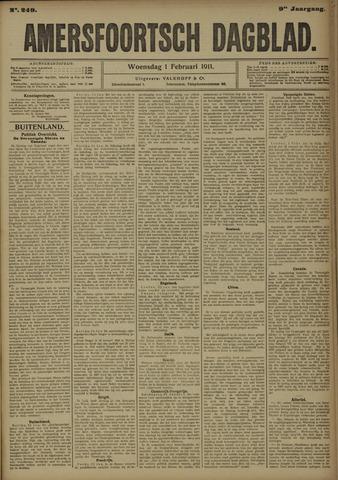 Amersfoortsch Dagblad 1911-02-01