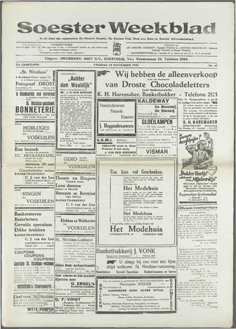 Soester Courant 1938-11-25
