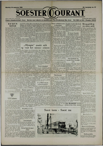 Soester Courant 1966-08-30