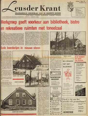 Leusder Krant 1974-10-17