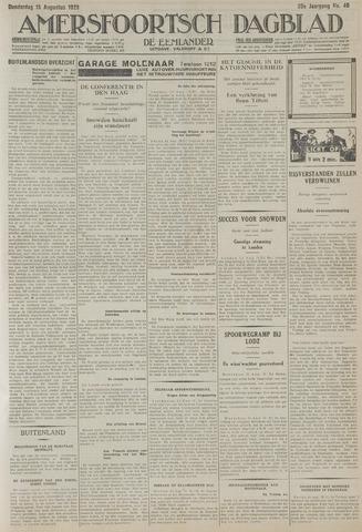 Amersfoortsch Dagblad / De Eemlander 1929-08-15