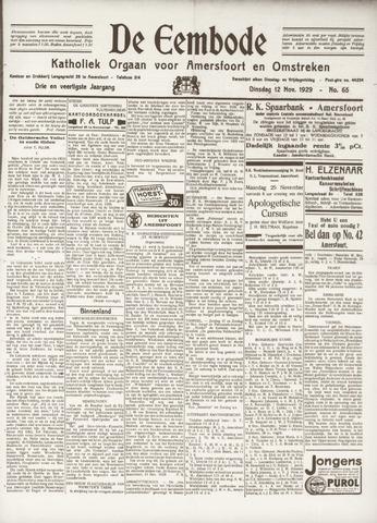 De Eembode 1929-11-12