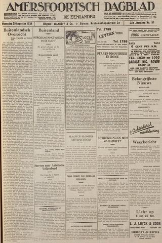 Amersfoortsch Dagblad / De Eemlander 1934-08-29