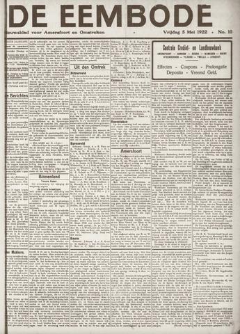 De Eembode 1922-05-05