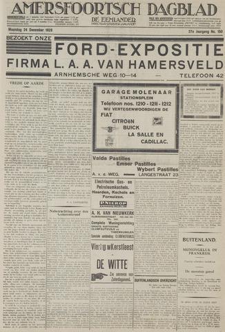 Amersfoortsch Dagblad / De Eemlander 1928-12-24