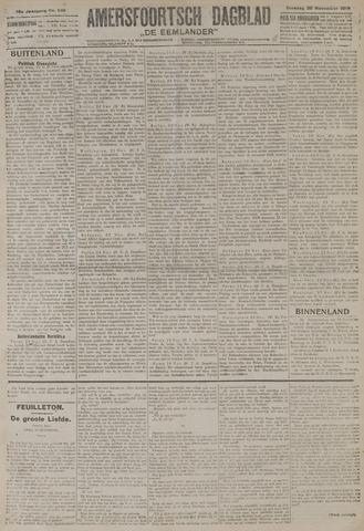 Amersfoortsch Dagblad / De Eemlander 1919-11-25