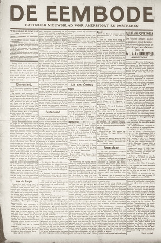 De Eembode 1920-06-30