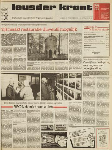 Leusder Krant 1988-11-17