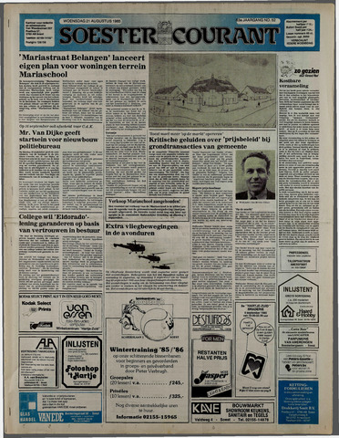 Soester Courant 1985-08-21