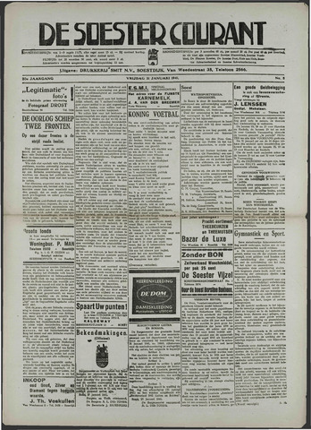 Soester Courant 1941-01-31