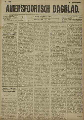 Amersfoortsch Dagblad 1904-01-15