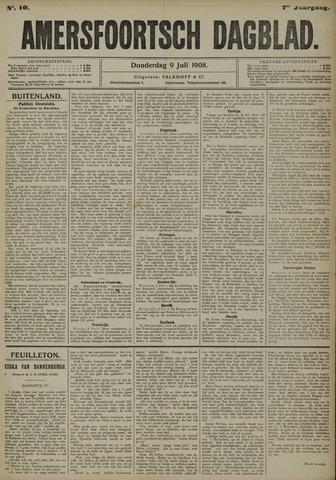 Amersfoortsch Dagblad 1908-07-09