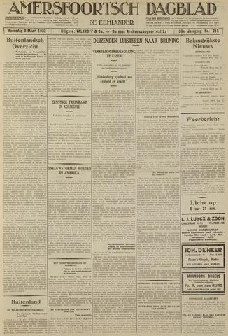 Amersfoortsch Dagblad / De Eemlander 1932-03-09