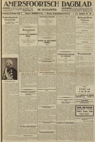 Amersfoortsch Dagblad / De Eemlander 1932-10-20