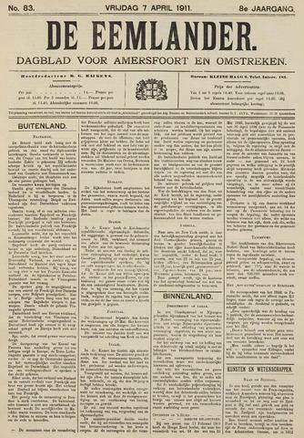 De Eemlander 1911-04-07