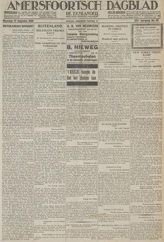Amersfoortsch Dagblad / De Eemlander 1928-08-27
