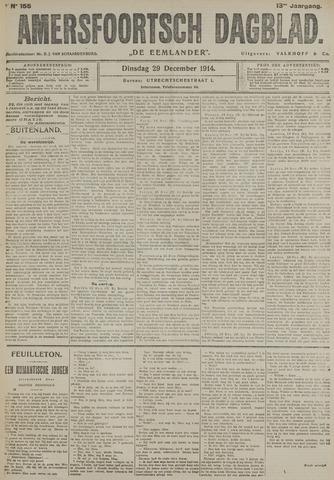 Amersfoortsch Dagblad / De Eemlander 1914-12-29