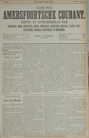 Nieuwe Amersfoortsche Courant 1884-04-26
