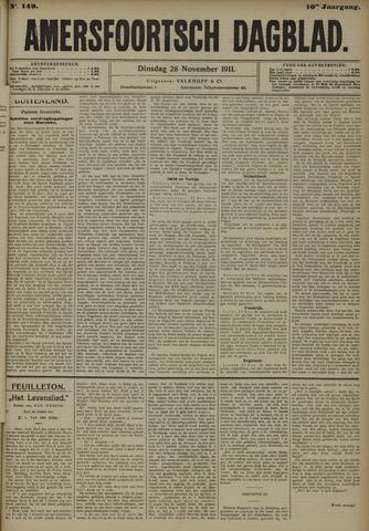 Amersfoortsch Dagblad 1911-11-28
