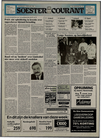 Soester Courant 1995-02-01