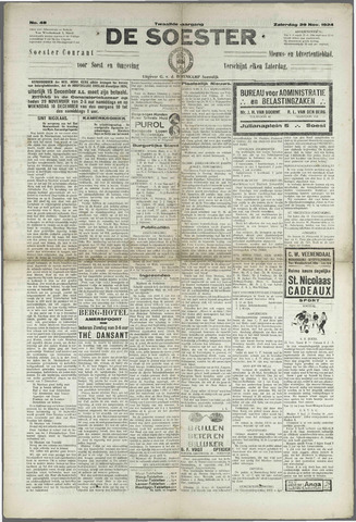 Soester Courant 1924-11-29