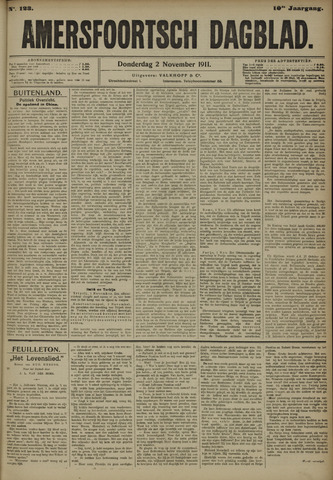 Amersfoortsch Dagblad 1911-11-02