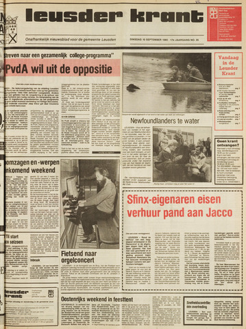 Leusder Krant 1985-09-10